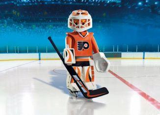 Playmobil - 9032-usa - NHL® Philadelphia Flyers® Goalie