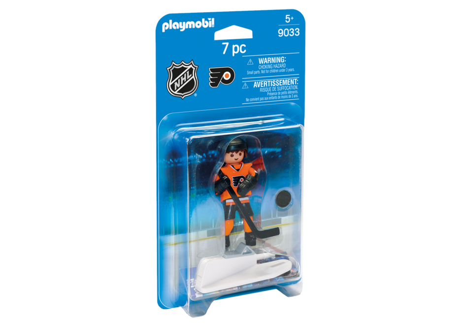 Playmobil 9033-usa - NHL® Philadelphia Flyers® Player - Box