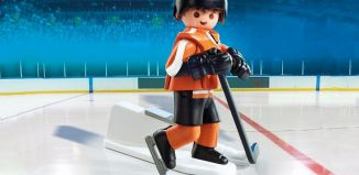 Playmobil - 9033-usa - NHL® Philadelphia Flyers® Player
