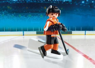 Playmobil - 9033-usa - NHL® Philadelphia Flyers® Player