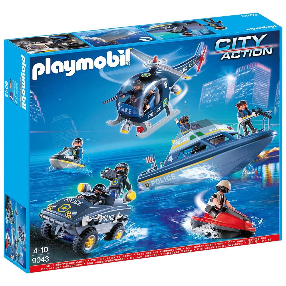 Playmobil 9043-ger-esp - Megaset SWAT - Box