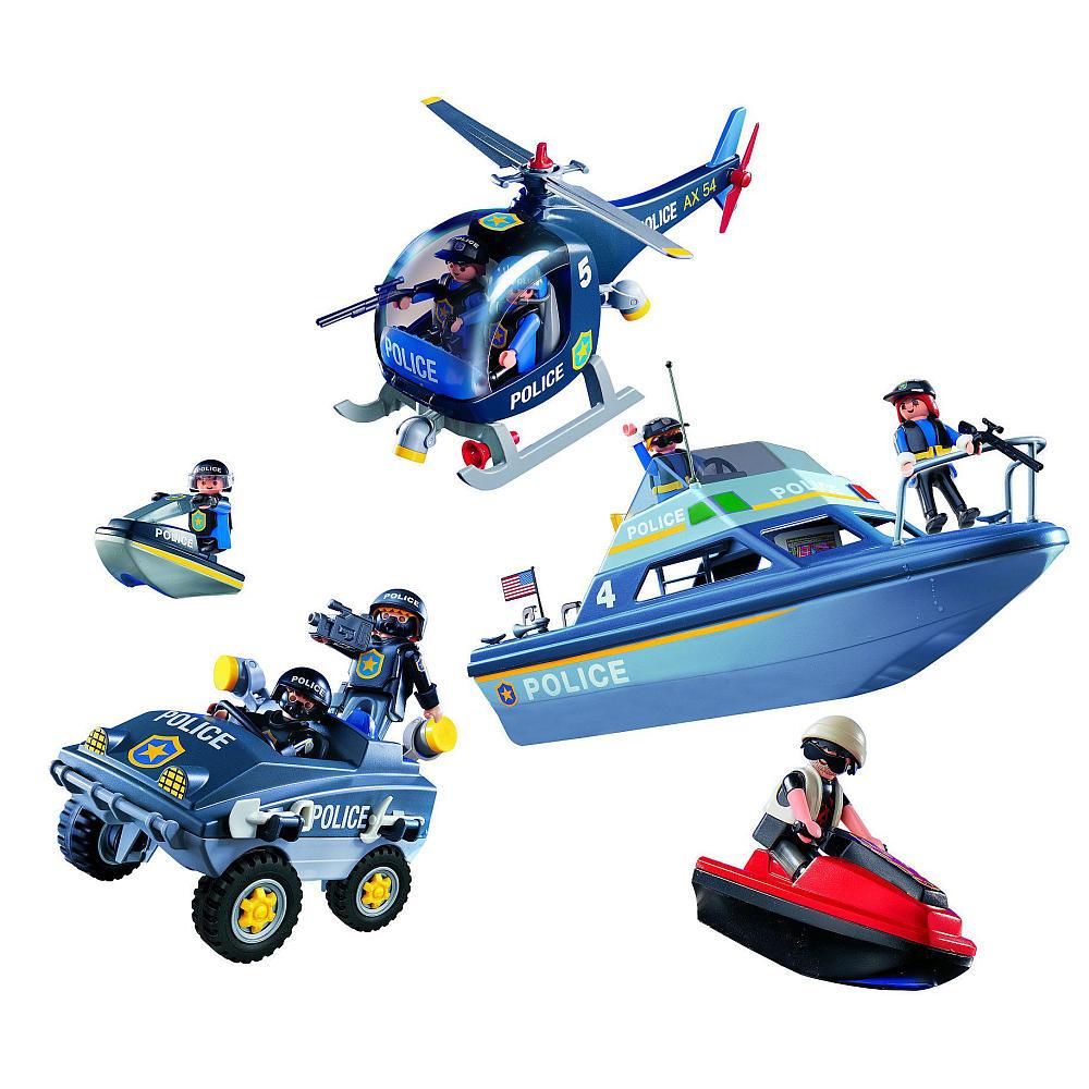 Playmobil 9043-ger-esp - Megaset SWAT - Back