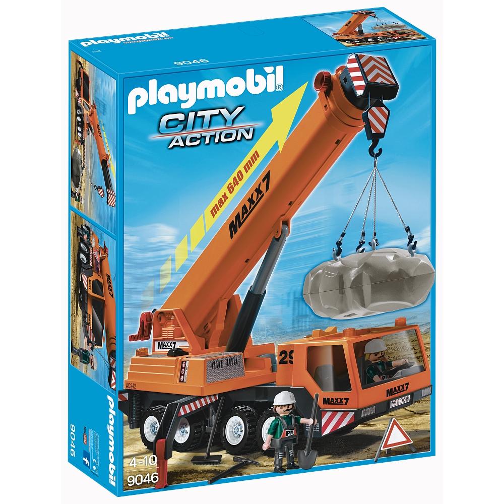 Playmobil 9046-ger-esp - Mobile heavy-lift crane - Boîte