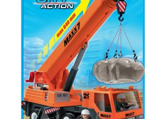 Playmobil - 9046-ger-esp - Mobile heavy-lift crane