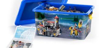 Playmobil - 00000 - 23L Storage Box + Compartment Case - Knights