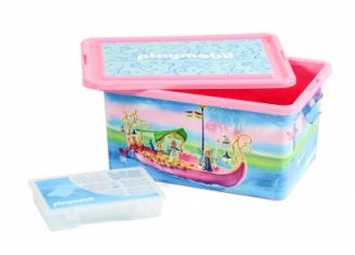 Playmobil - 00000 - 23L Storage Box + Compartment Case - Fairies