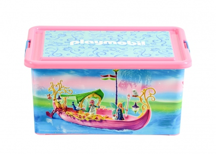 Playmobil 00000 - 23L Storage Box + Compartment Case - Fairies - Box