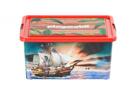 Playmobil 00000 - 23L Storage Box + Compartment Case - Pirates - Box
