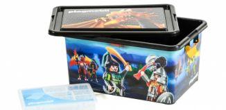 Playmobil - 00000 - 23L Storage Box + Compartment Case - Samurais