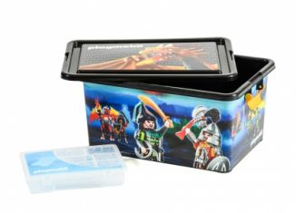 Playmobil - 00000 - 23L Storage Box + Compartment Case - Samurais