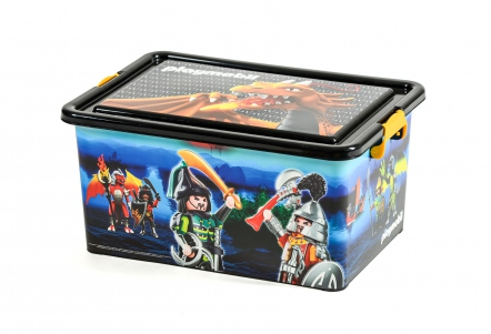 Playmobil 00000 - 23L Storage Box + Compartment Case - Samurais - Box