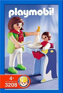 Playmobil 3208s2 - Mother with Child - Box