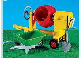 Playmobil - 7140 - Cement Mixer with Wheelbarrow