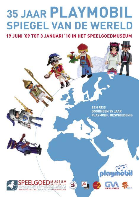 Playmobil 0000-bel - 35 jaar Playmobil Spiegel Van de Wereld Promocional - Box