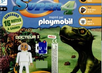 Playmobil - 0 - Magazine Super 4 N° 6 - France