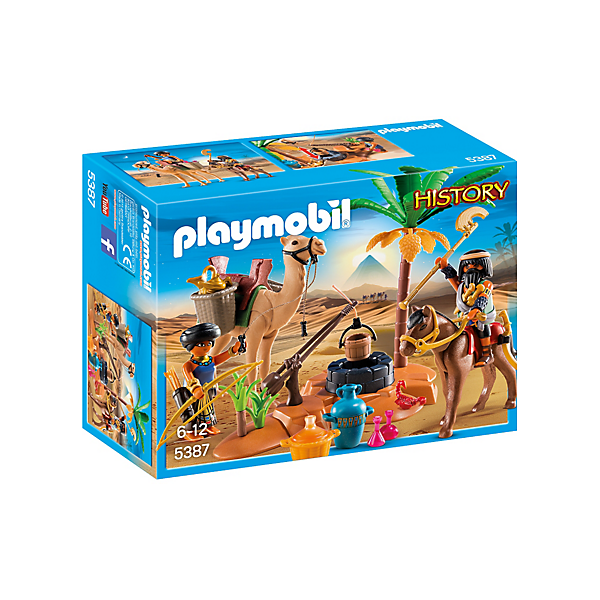 Playmobil 5387 - Camp of grave robber - Box