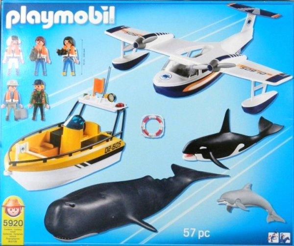Playmobil 5920 - Marine Mammals - Back