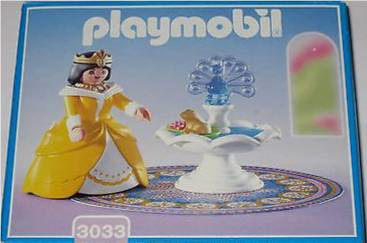 Playmobil 3033 - Princess with Magic Fountain - Box