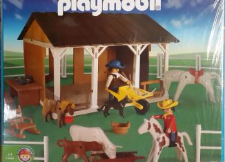 Playmobil - 1-3963v2-ant - Farm barn