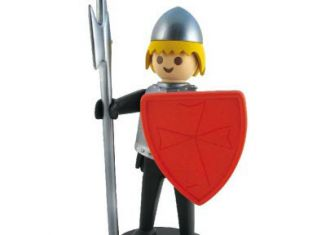Playmobil - 00000 - Black knight