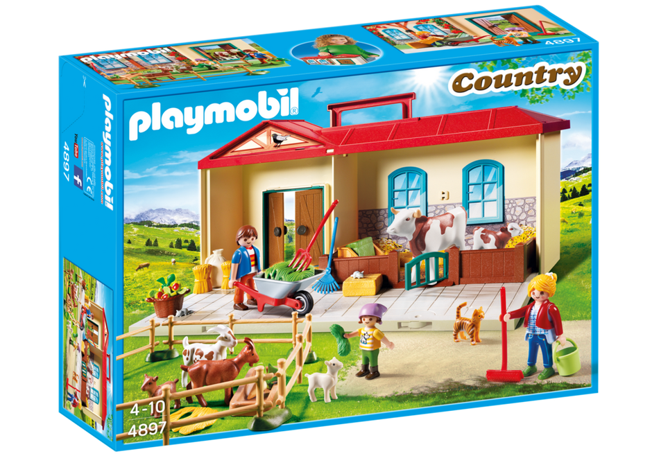 Playmobil 4897 - Takeaway farm - Box