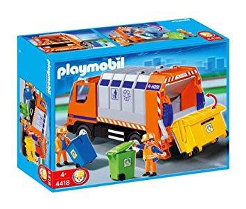 Playmobil 4418 - Müllabfuhr - Box