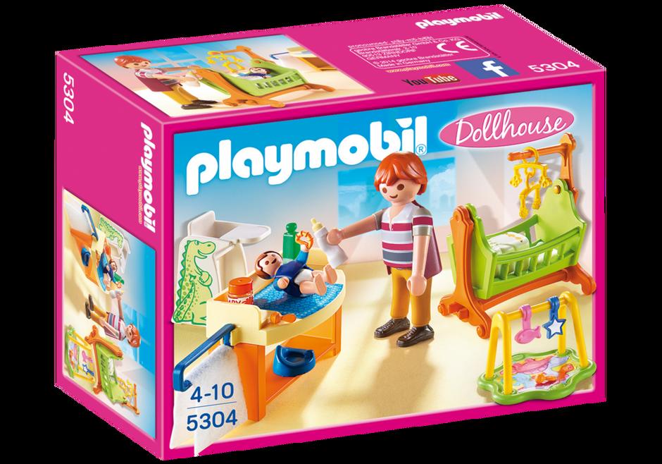 Playmobil 5304 - Babyzimmer mit Wiege - Box