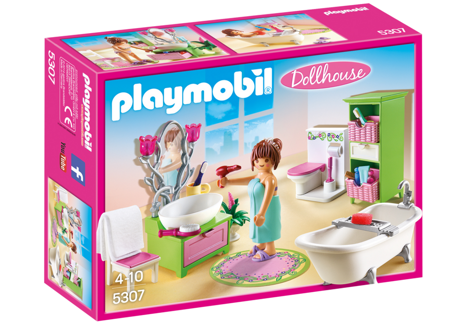 Playmobil 5307 - Romantic Bathroom - Box