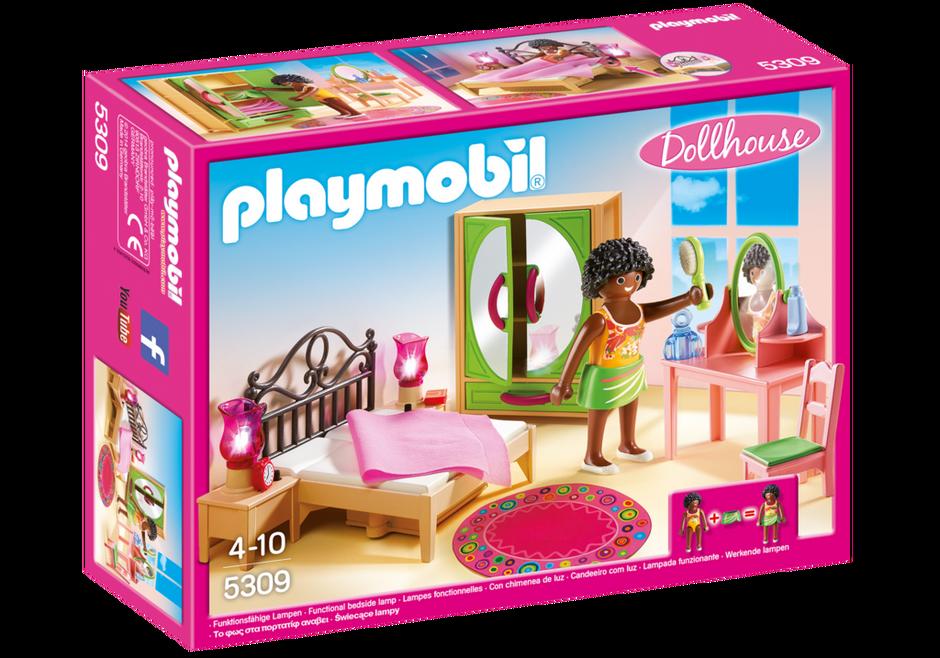 Playmobil 5309 - Schlafzimmer mit Schminktischchen - Box