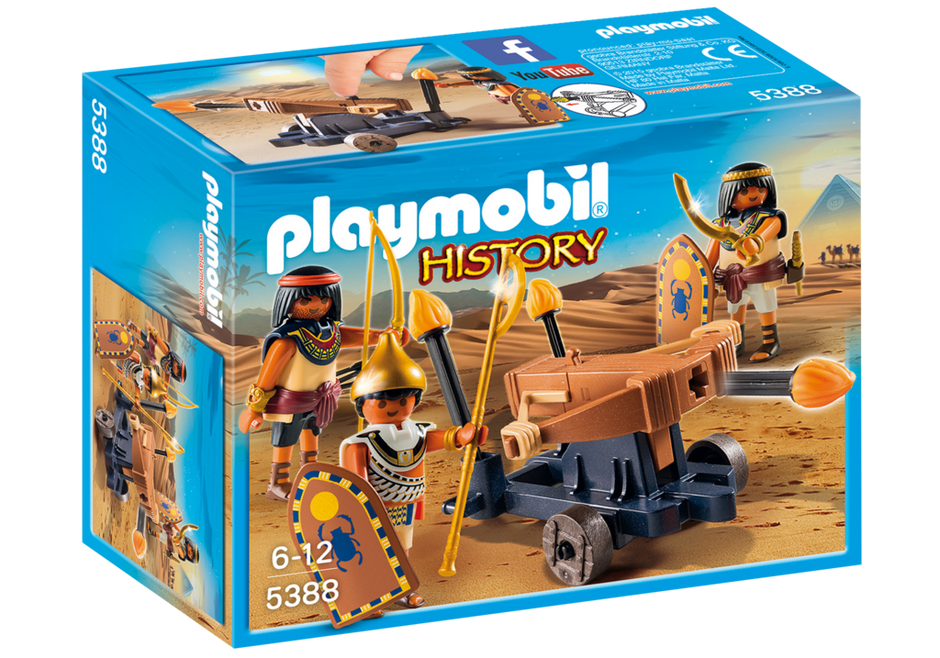 Playmobil 5388 - Egyptian Troop with Ballista - Box