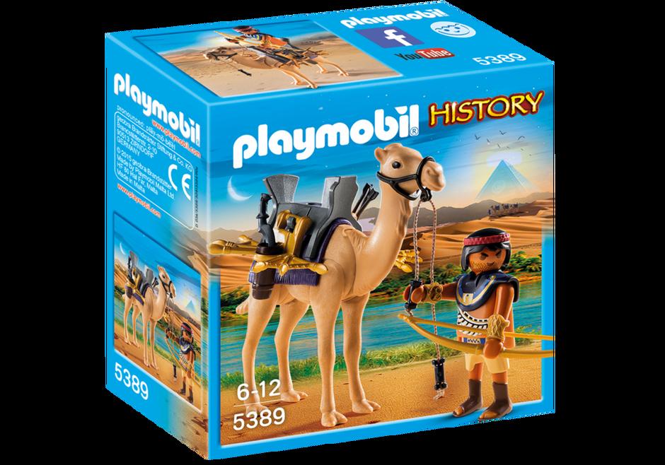 Playmobil set 5389 egyptian warrior with camel - Playmobil egyptien ...