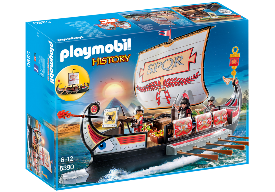 Playmobil 5390 - Roman Warriors' Ship - Box