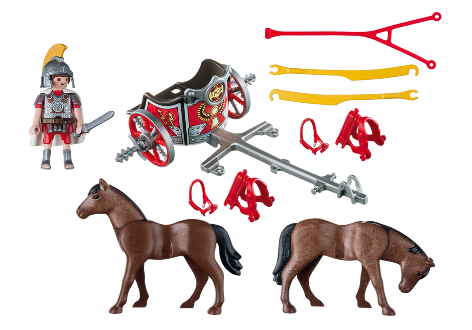 Playmobil 5391 - Roman chariot - Back