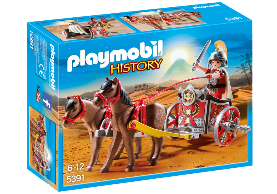 Playmobil 5391 - Roman chariot - Box
