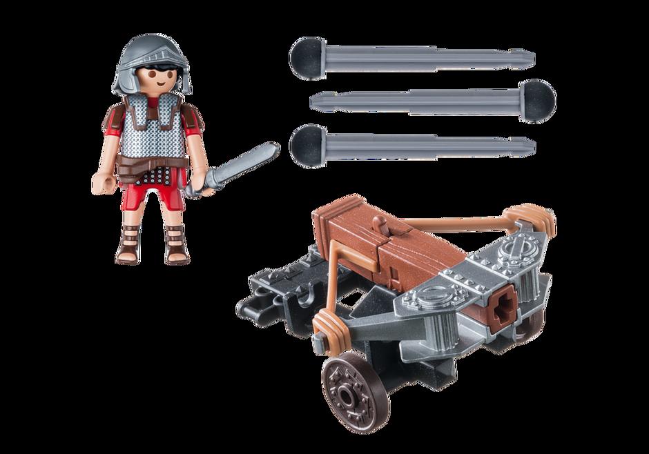 Playmobil 5392 - Legionär mit Ballista - Zurück