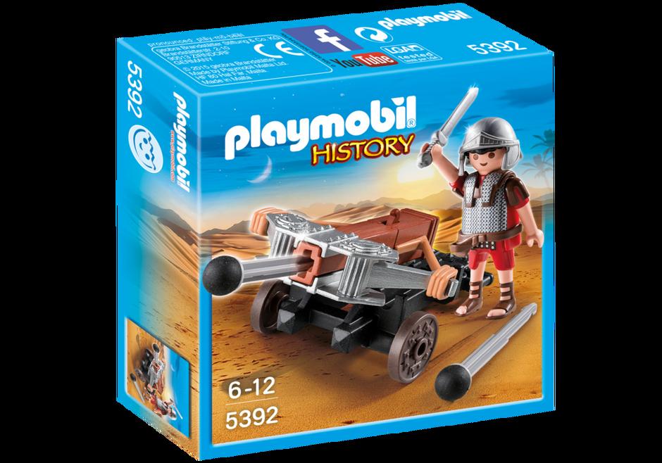 Playmobil 5392 - Legionär mit Ballista - Box