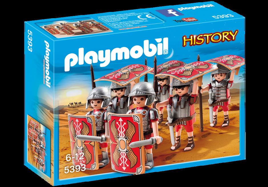 Playmobil 5393 - Legionaries in turtle position - Box