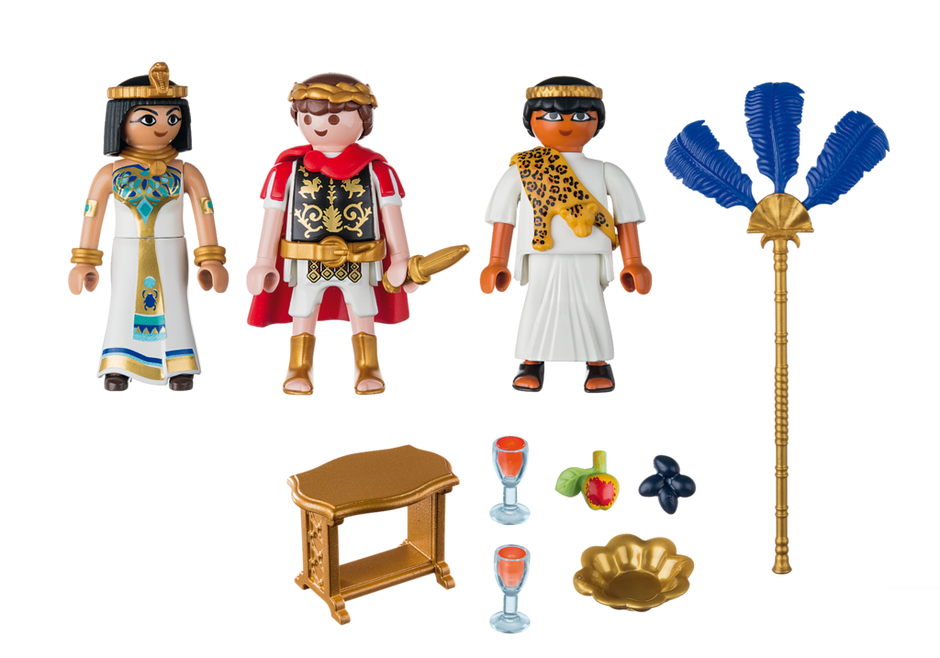 Playmobil 5394 - Caesar and Cleopatra - Back