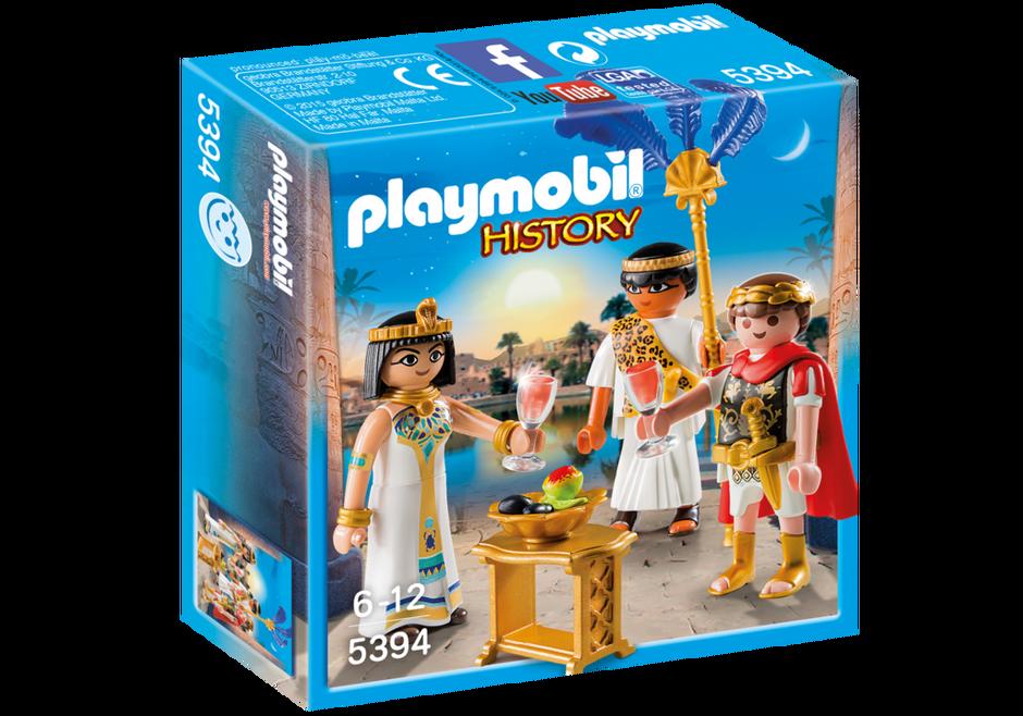 Playmobil 5394 - Caesar and Cleopatra - Box