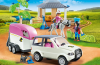 Playmobil - 5667v2 - Horse stable with trailer
