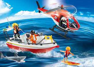 Playmobil - 5668-gre - Coastal Search & Rescue