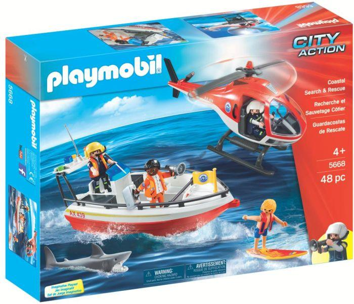 Playmobil 5668-gre - Coastal Search & Rescue - Box