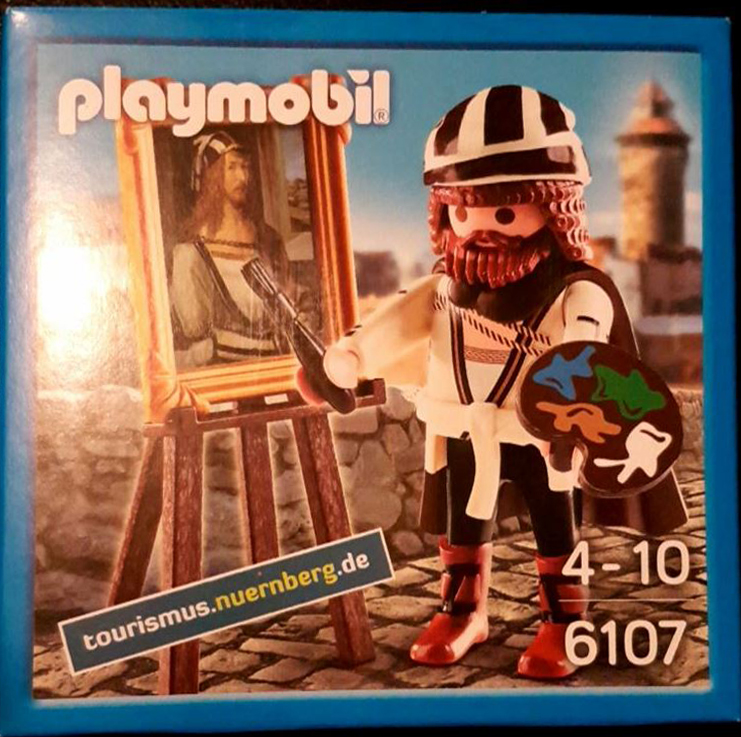 Playmobil 6107v2 - Albert Durero - Box