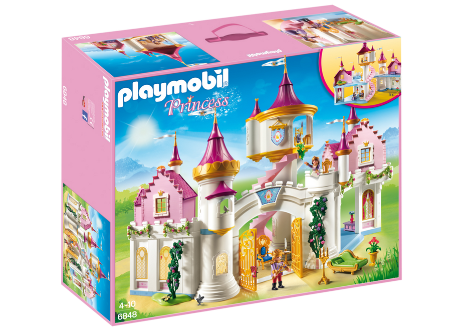 Playmobil Set 6848 Grand Princess Castle Klickypedia