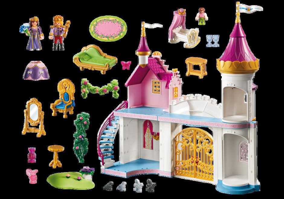 Playmobil 6849 - Princess palace - Back