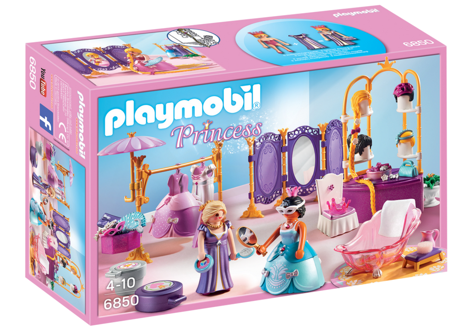 Playmobil 6850 - Dressing Room with Salon - Box