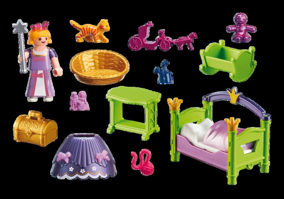Playmobil 6852v1 - Royal Nursery - Back