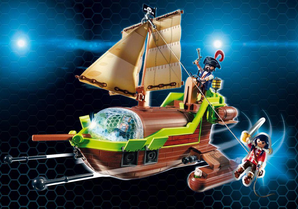 playmobil set 9000 pirate chameleon with ruby klickypedia. Black Bedroom Furniture Sets. Home Design Ideas
