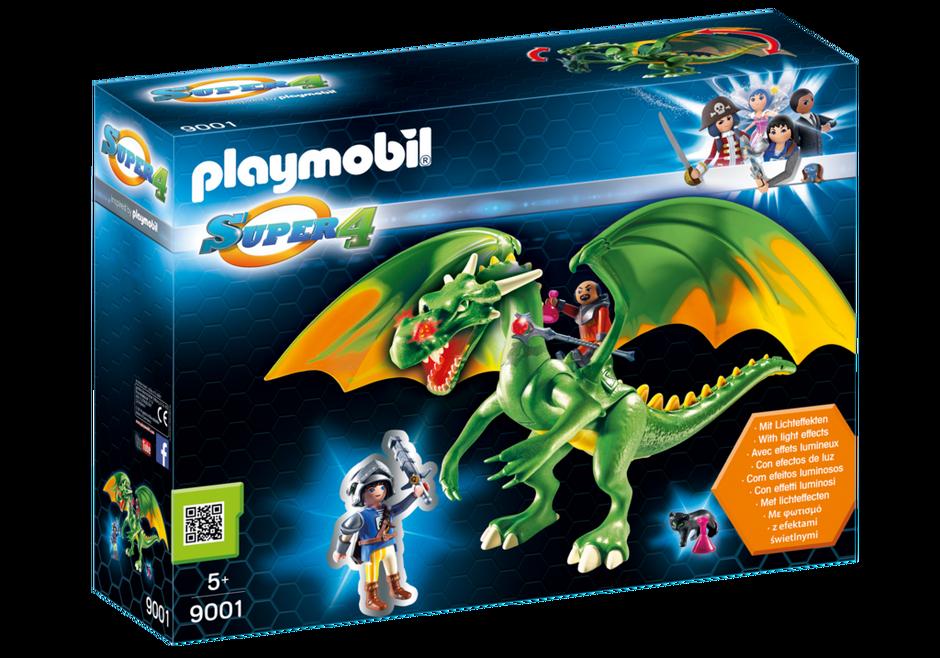 Playmobil 9001 - Kingsland Dragon with Alex - Box