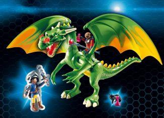 Playmobil - 9001 - Kingsland Dragon with Alex
